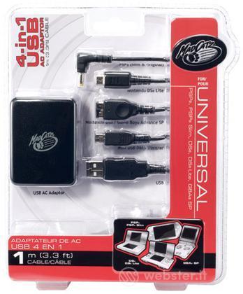 MAD CATZ 4 in 1 USB AC Adapter