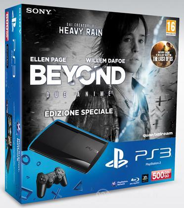 Playstation 3 500GB+Beyond:2 Anime+TLOU