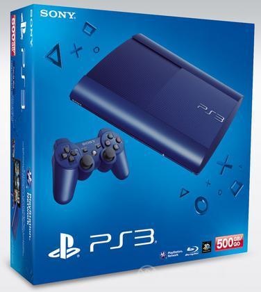 Playstation 3 500GB Blue