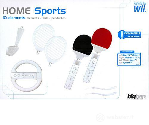 BB Pack Sport Kit Da 10 Pezzi Wii