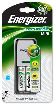 Caricabatterie MiniCharger+2AA Energizer