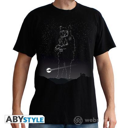 T-Shirt Star Wars - Boba Fett Stars M