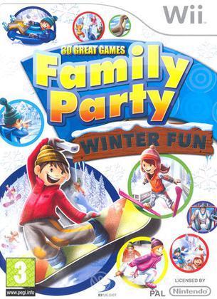 Family Party Winter Fun