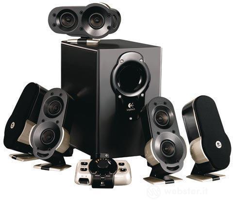 LOGITECH PC Speakers G51 SSS 5.1 155W