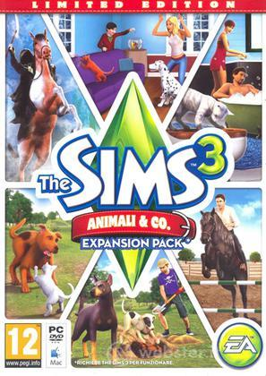 The Sims 3 Animali & Co Ltd Ed.(exp pack