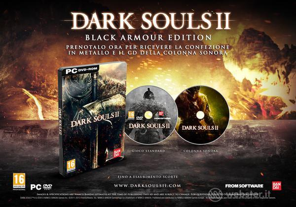Dark Souls 2 Black Armor Ed. Day One Ed.