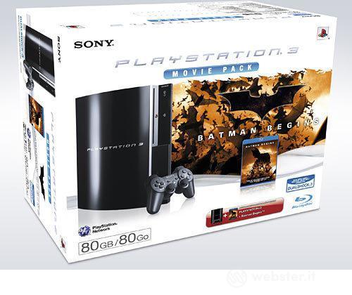 Playstation 3 80 Gb + Batman Begins Film