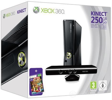 XBOX 360 250GB Kinect Matte Bundle