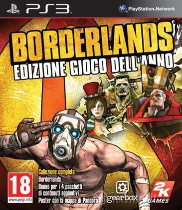 Borderlands edizione gioco dell'anno