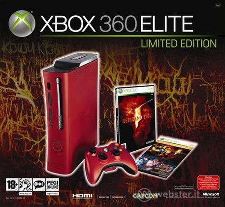 XBOX 360 Elite System Resident Evil 5