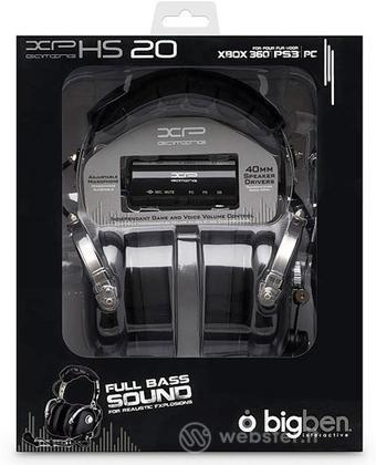 Cuffie Gaming Headset+Mic Hs20  Bigben
