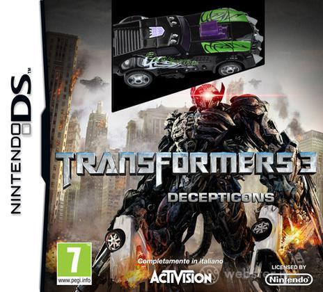 Transformers 3 vers Decepticons -bundle