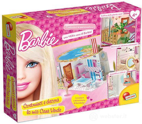 Barbie Costruisci e Decora - Casa Verde