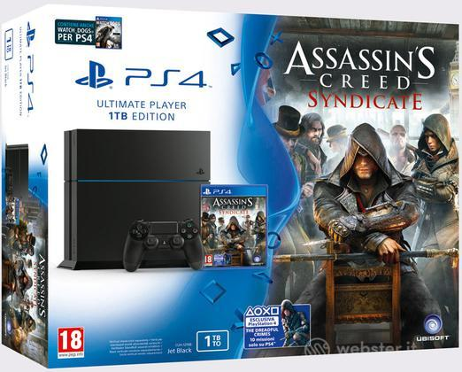 Playstation 4 1TB + Ass. Creed Syndicate