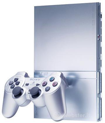 Playstation 2 - Silver Slim