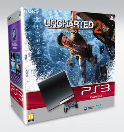 Playstation 3 250 Gb + Uncharted 2