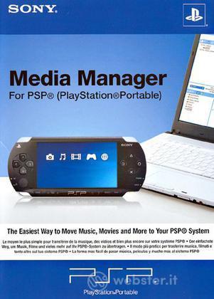 PSP Sony Media Manager