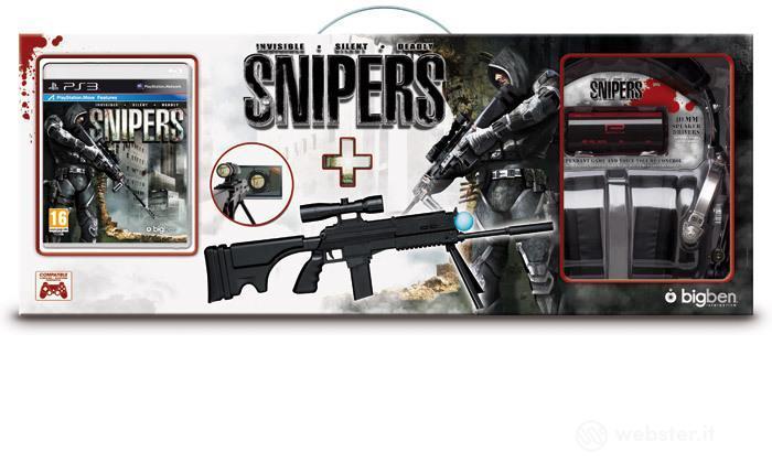Snipers + fucile black+cuffia elicopter