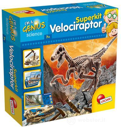 Piccolo Genio Super Kit Velociraptor