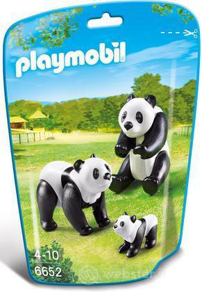PLAYMOBIL Famiglia di Panda