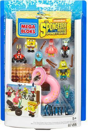 SpongeBob Movie Figures Pack