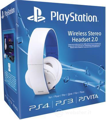 Sony Cuffie Wireless Premium 2.0 White