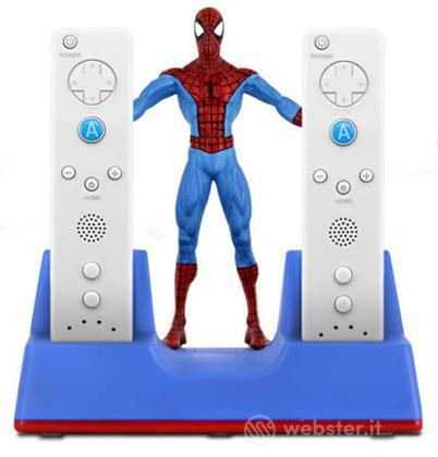 Wii base di ricarica 3d Spiderman Bigben