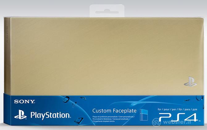 Sony Cover Playstation 4 - Gold