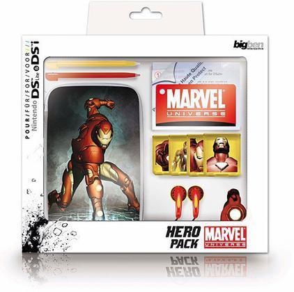 DSi NDSLite Ironman Pack Marvel Bigben