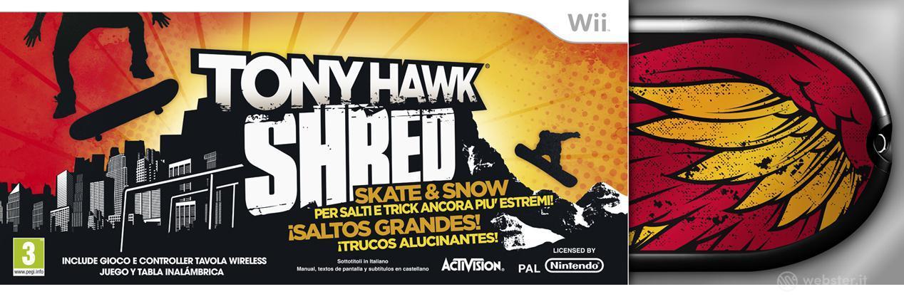 Tony Hawk Shred Bundle
