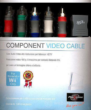Cavo Component mt.1.80  Wii