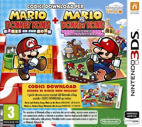 Mario vs D. Kong: Minis March Again (DL)