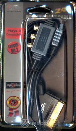 PS3 Cavo Scart con uscita AV m.1,80 - XT