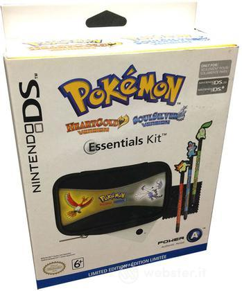 DSI Essential Kit Pokemon Gold/Silver