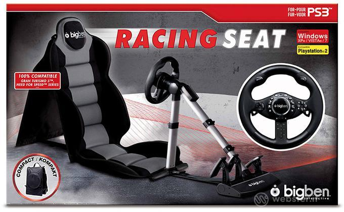 Racing Seat 2 + Volante Bigben