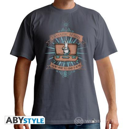 T-Shirt Fantastic Beast - Suitcase S