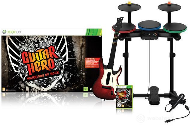 Guitar Hero 6 Warriors of Rock S/Bundle