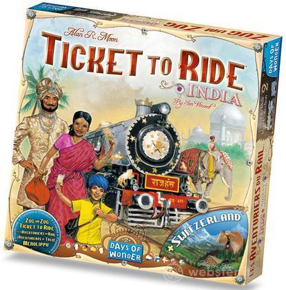 Ticket to Ride esp. India