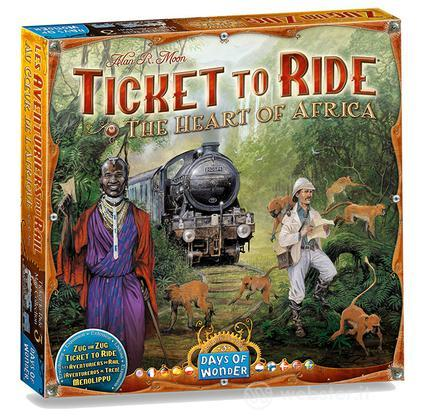 Ticket to Ride esp. The Heart of Africa