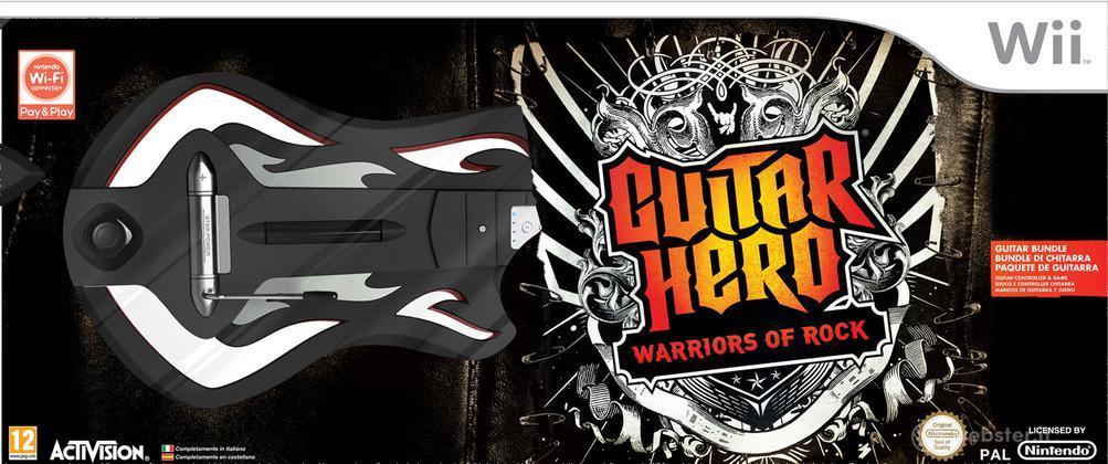 Guitar Hero 6 Warriors of Rock Bundle