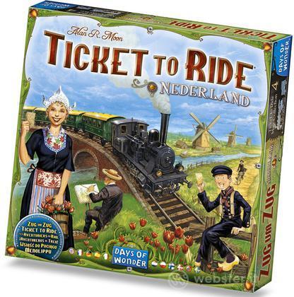 Ticket to Ride esp. Olanda