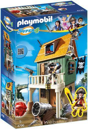 PLAYMOBIL Forte dei Pirati Mimetico