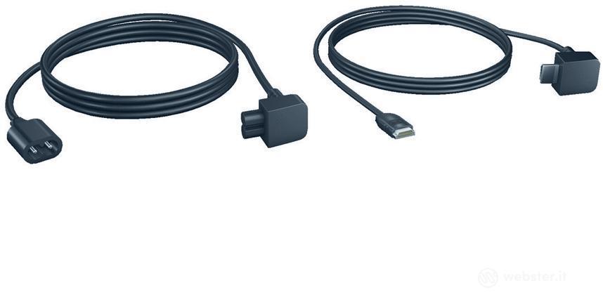 Cavo HDMI 2,5m e Prolunga rete elettrica