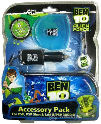 Pack 8 In 1 Ben 10 Alien Force PSP