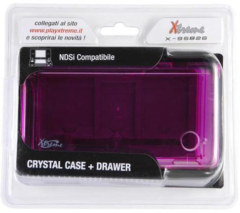 DSi Crystal Case + Drawer - XT