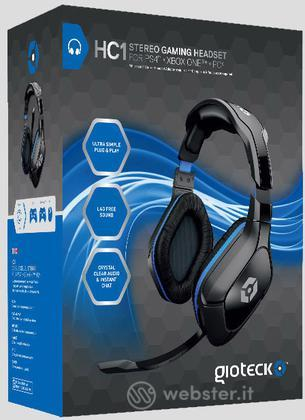 GIOTECK Cuffie Gaming Stereo HC1