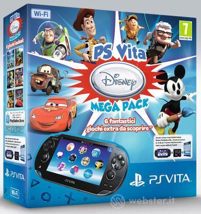 PS Vita Wi-Fi+MC 16GB+Disney Mega Pack