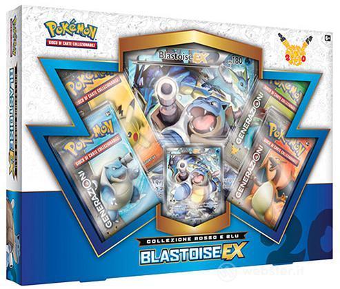 Pokemon Coll. Rosso e Blu - Blastoise Ex