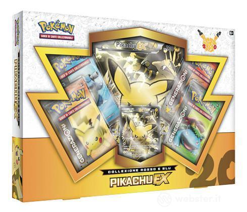 Pokemon Coll. Rosso e Blu - Pikachu EX