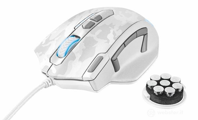 TRUST GXT 155W Gaming Mouse - White